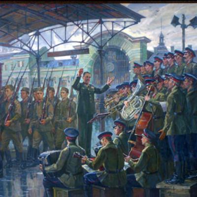 Краснознамённый Ансамбль Песни И Пляски Советской Армии П/У А. В. Александрова - В поход