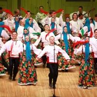 Русский Народный Хор Им. М.Е.Пятницкого - Как Родная Меня Мать Провожала