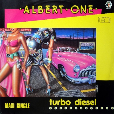 Albert One - Turbo Diesel (Vinyl 12'')