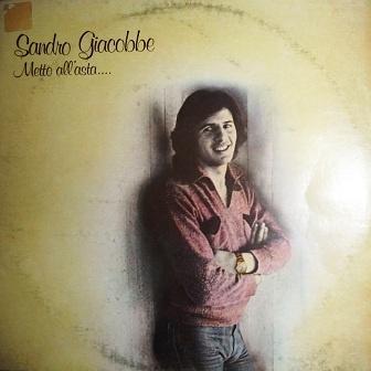 Sandro Giacobbe - Metto All'asta (LP)