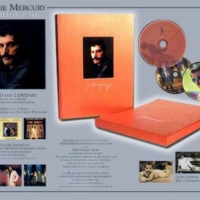Freddie Mercury - The Solo Collection CD-5: The Singles 1986-1993