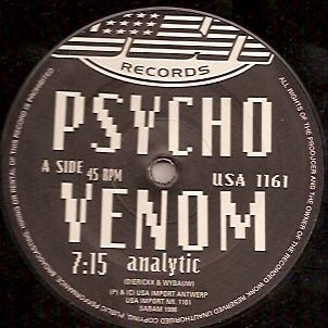 Analytic - Psycho Venom / Mysterious Mind (Single)