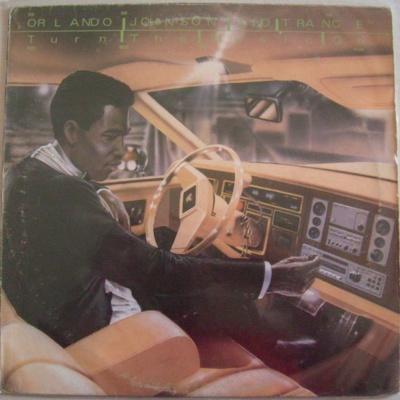 Orlando Johnson - Turn The Music On (LP)