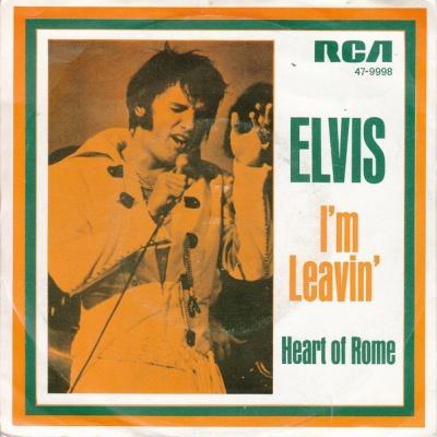 Elvis Presley - I'm Leavin' (Single)