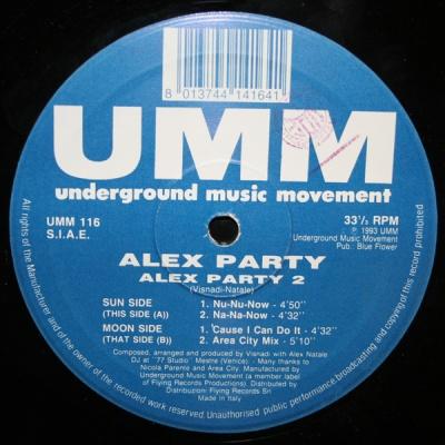 Alex Party - Alex Party 2 (Maxi-Vinyl)