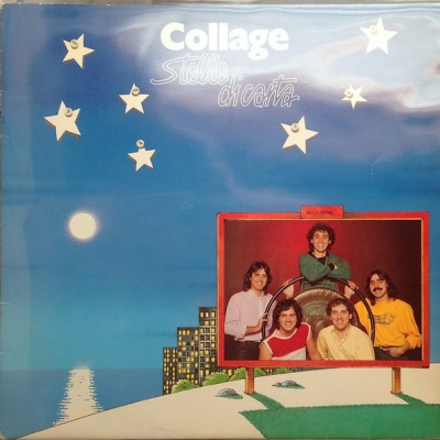 Collage (Italy) - Stelle Di Carta (LP)