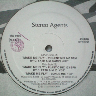 Stereo Agents - Make Me Fly (Album)