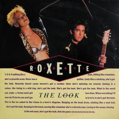Roxette - The Look (EMI Single)