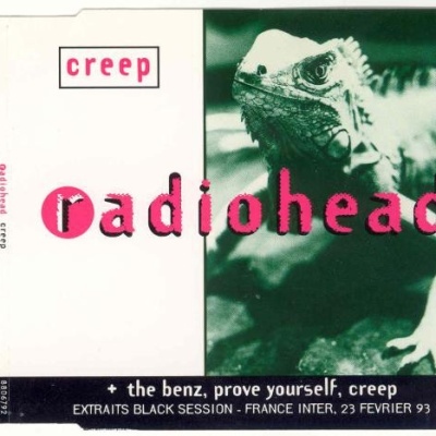 Radiohead - Creep Black Sessions (France) CDS (Single)
