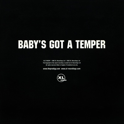 The Prodigy - Baby's Got A Temper