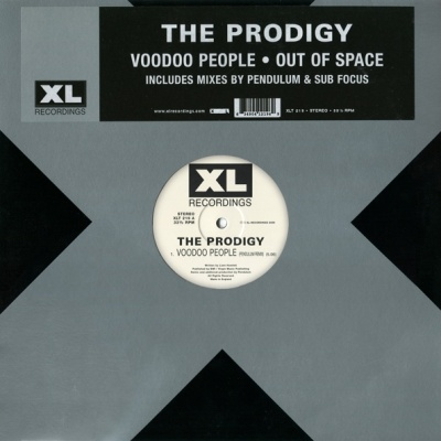 The Prodigy - Voodoo People - Out Of Space (Single)