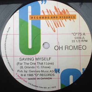 Oh Romeo - Saving Myself (For The One That I Love)