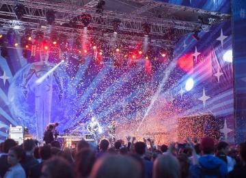 Музыкальные пятницы на Смотровой площадке Парка Горького