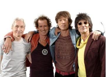 Участники The Rolling Stones откроют выставку... самих себя!