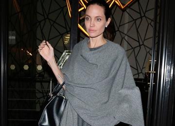 Анджелина Джоли странно вела себя во время шоппинга