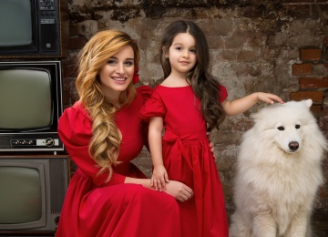 Ксюша Бородина воспитывает талантливых дочерей