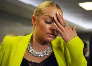 Анастасия Волочкова закатила истерику после секс-скандала с ее участием