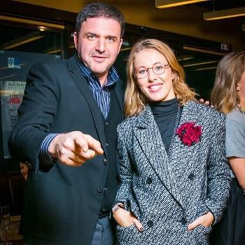 Максим Виторган трогательно поздравил Ксению Собчак с первым днем рождения их сына