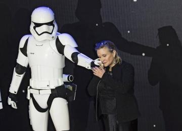 В Лондоне прошла премьера блокбастера «Звездные Войны: Последние джедаи