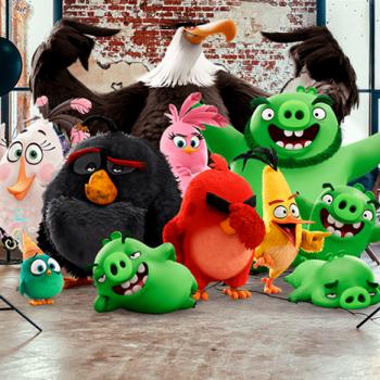 Впервые в Москве: новогоднее шоу Angry Birds