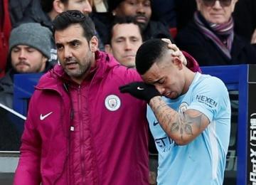 Нападающий «Манчестер Сити» заплакал во время матча