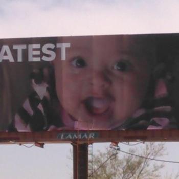 Муж Серены Уильямс выкупил для жены и их  дочери четыре билборда