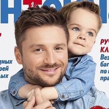 Сергей Лазарев делится фото с сыном