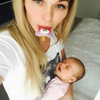 Двухлетняя дочь Анны Хилькевич появилась в Instagram