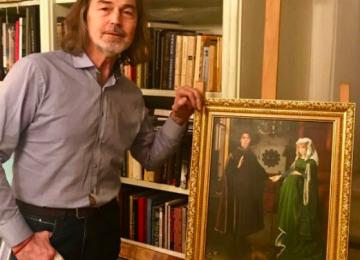 Никас Сафронов нарисовал «беременную» Аллу Пугачеву