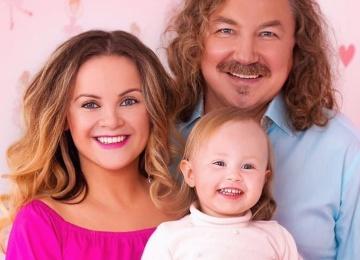 Двухлетняя дочь Игоря Николаева дебютировала в эфире