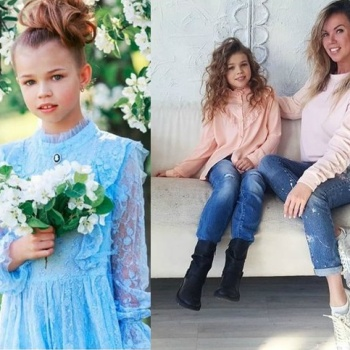 Маленькая дочь Дмитрия Тарасова стала моделью