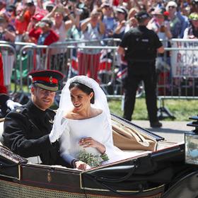 Меган Маркл выругалась прямо на свадьбе!