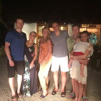 Пелагея отдыхает с мужем на Мальдивах