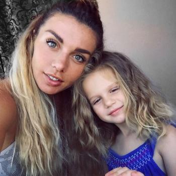 Анна Седокова посетила день рождения младшей дочери