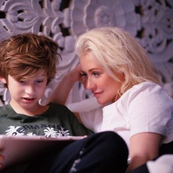 Кристина Агилера решилась впервые показать десятилетнего сына