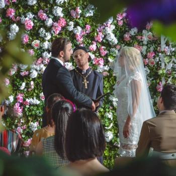 Беременная Катя Самбука вышла замуж