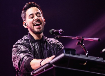 Участник Linkin Park с сольным концертом в Москве