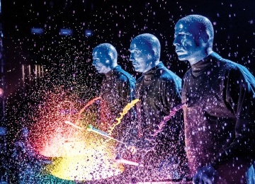 Шоу Blue Man Group в Москве