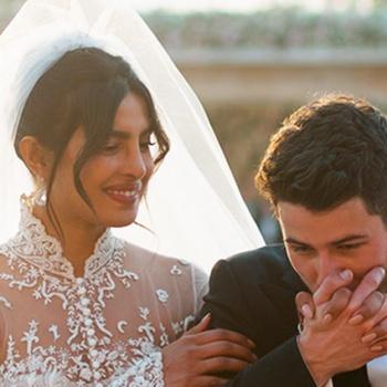 В каких нарядах Приянка Чопра выходила замуж?
