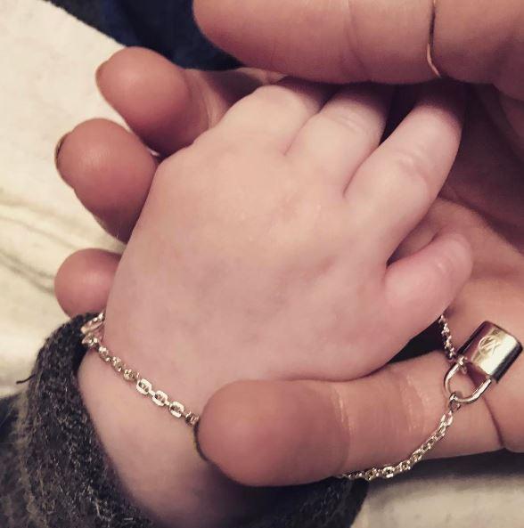 Собчак поделилась первым фото своего сына