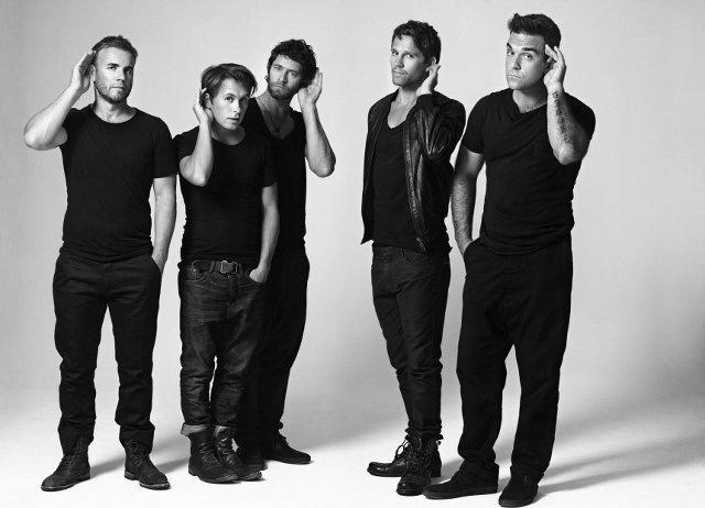 Группа «Take That» ждет возвращения Робби и Джейсона