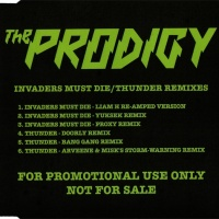 Invaders Must Die / Thunder Remixes