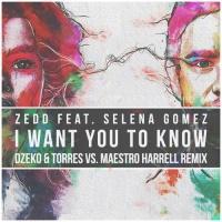 I Want You To Know (Dzeko & Torres vs. Maestro Harrell Remix)
