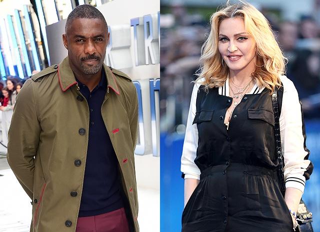 Мадонна стала встречаться с Идрисом Эльбой