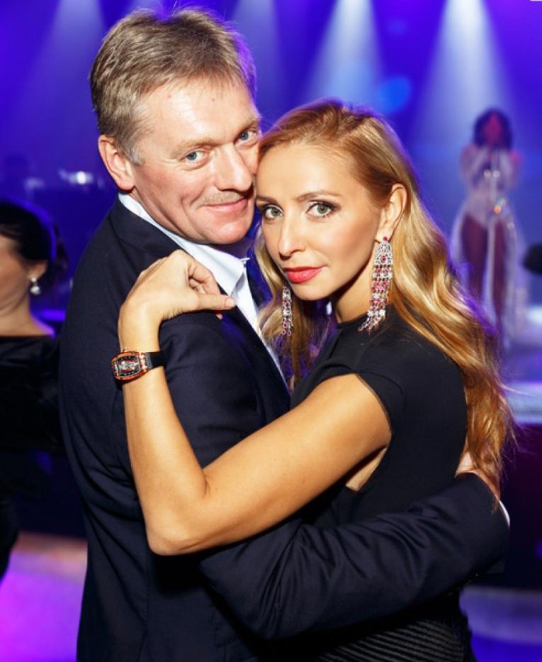 Дочь Татьяны Навки и Дмитрия Пескова  растет полиглотом