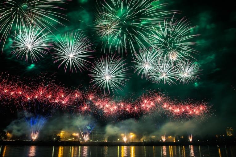 Международный фестиваль фейерверков