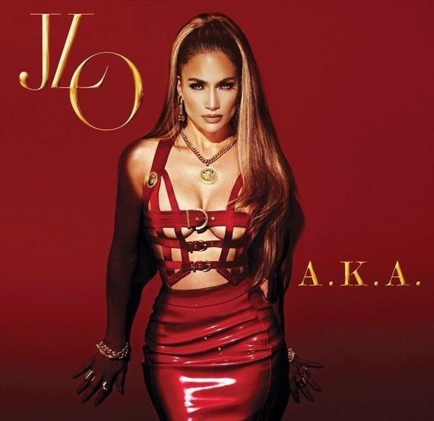 Дженнифер Лопес показала обложку нового альбома