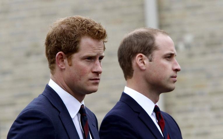 Принц Уильям и принц Гарри снялись в «Звездных войнах»