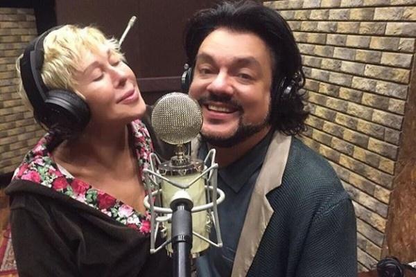 Филипп Киркоров и Любовь Успенская сняли клип