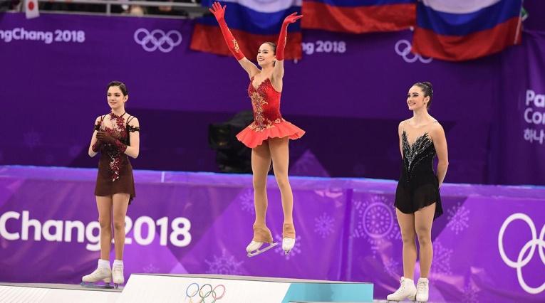 Алина Загитова жестко ответила американской спортсменке